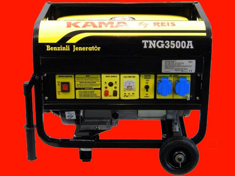 Бензиновый генератор 2,5 кВт KAMA TNG3500A