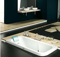 Гидромассажная ванна Jacuzzi Aquasoul Hydro Base встроенная без смесителя 9443-471 Sx левая