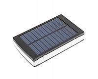 Внешний аккумулятор Solar charger 15000 мАч, Power Bank