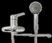 LIDZ 203800510 Смеситель  ванная с длинным гусаком