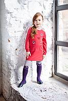 Стильное платье для девочки в пайетках