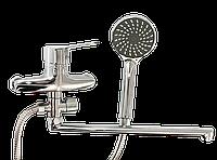LIDZ 203800502 Смеситель ванная с длинным гусаком