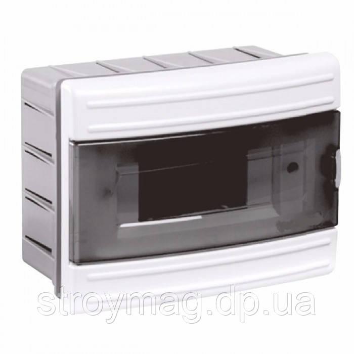 Щиток Horoz Electric на 6 модулів врізний Fuse Box-R/6