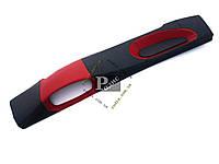 Накладка на торпеду ВАЗ 2108, 2109, 21099 (низкая) (красно-черная)  - Накладка на панель, фото 1