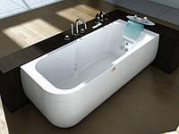 Гидромассажная ванна Jacuzzi Aquasoul Hydro Base с шумопоглощающей панелью без смесителя 9443-187A Dx правая