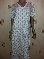 Ночная рубашка, вискоза, Турция, размер 3ХL (52)