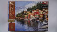 """Пазлы """"Lake Como Italy"""",1500ел,680*475мм,Danko Toys.Пазлы для детей и взрослых.Пазли для дітей та дорослих """"La"""