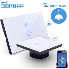 Sonoff Touch вимикач WiFi розумний сенсорний настінний