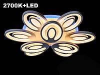 Сверхъяркая светодиодная люстра с цветной подсветкой 195W, фото 1