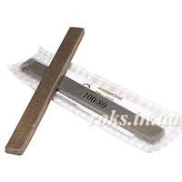 Эльборовый брусок на металлической связке, 125х12х5 мм Зернистость 100/80 мкм арт.10114