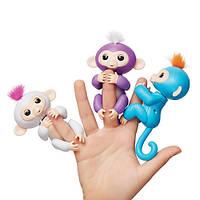 Интерактивная обезьянка, wowwee, интересные подарки, развивающие игрушки, игрушки роботы, обезьянка на палец, игрушка обезьянка, обезьянка игрушка,