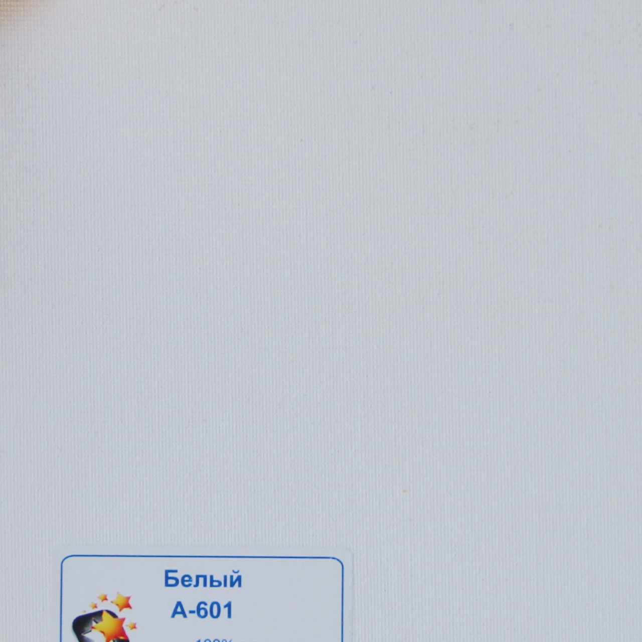 Рулонні штори Тканина Однотонна А-601 Білий