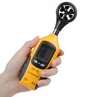 Анемометр HT-81 (SR5881 Mini) (0,95-25.0 м/с; -10 ... +50 °C) в пыле и влагозащищённом прорезиненном корпусе