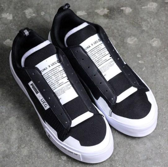 09ed96f1671fa1 ... Puma Court Play SlipOn x UEG Black White