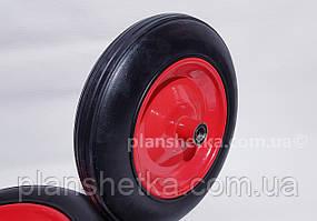 """Колесо для тачки 4.00-8 под ось 20 мм  цельнолитое  """"Tires-For"""""""