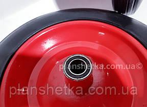 """Колесо для тачки 4.00-8 под ось 20 мм  цельнолитое  """"Tires-For"""", фото 2"""