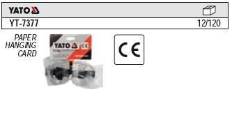 Очки защитные открытые YATO YT-7377, фото 2