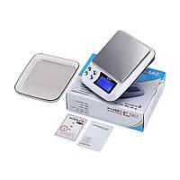 Весы цифровые DM.3 (±0,1-2000 г) с функцией счета, съемной крышкой и возможностью работать от сети 220V