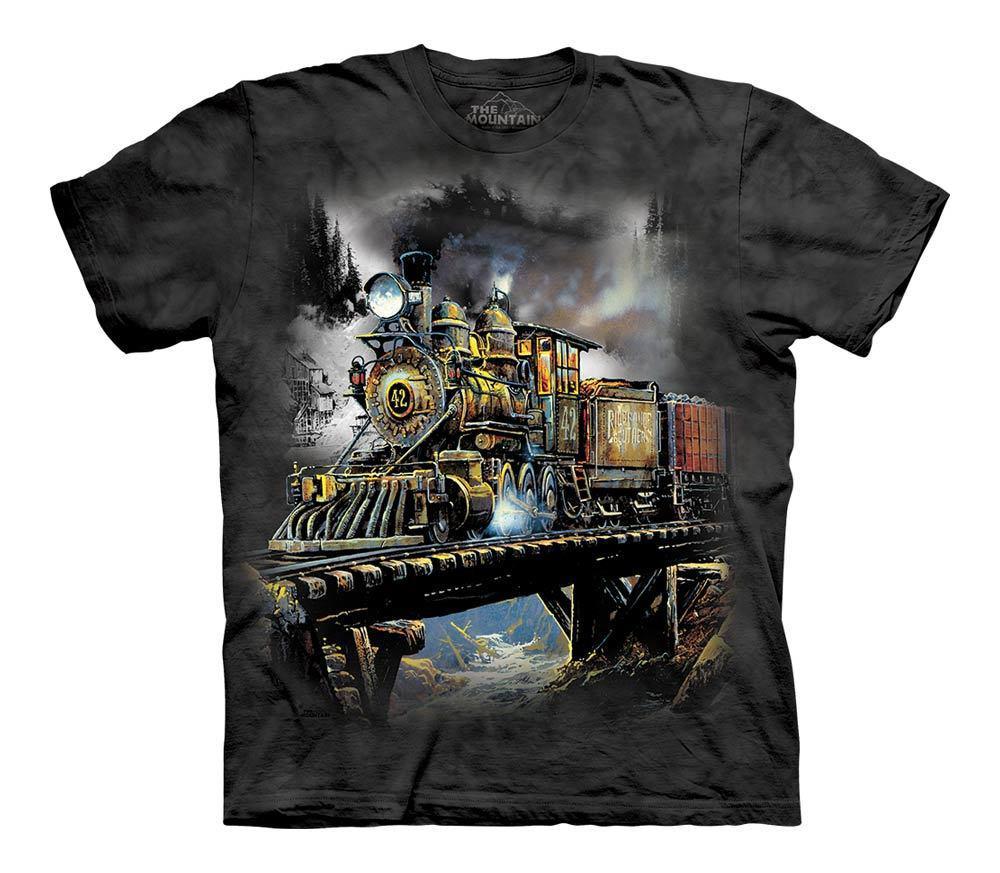 3D футболка для мальчика The Mountain р.L 10-12 лет футболки детские с 3д рисунком (Ценный груз)