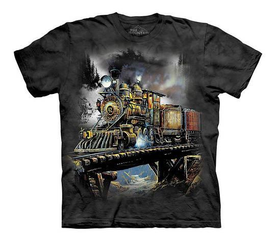 3D футболка для мальчика The Mountain р.L 10-12 лет футболки детские с 3д рисунком (Ценный груз), фото 2