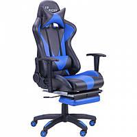 Геймерское кресло VR Racer BN-W0109A черный/синий