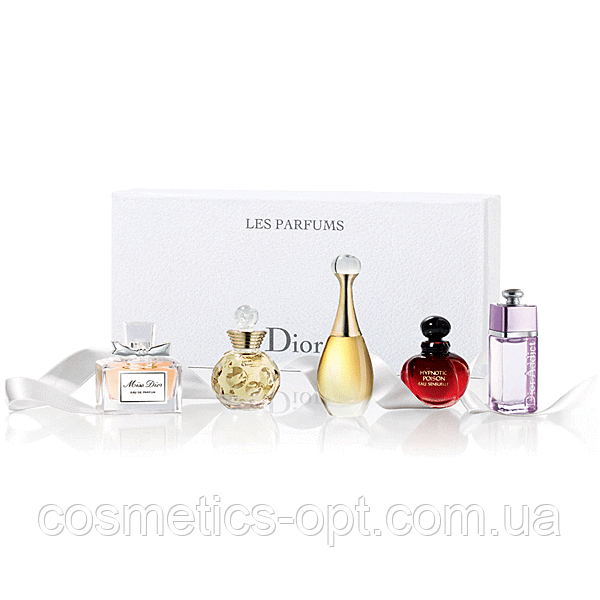 Духи в миниатюре Dior Les Parfums Miniature Set (5*5ml) (реплика)