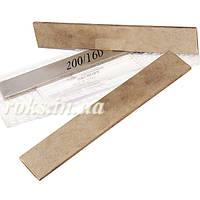 Алмазный точильный брусок 200/160 мкм 200х40х5 мм на металлической связке