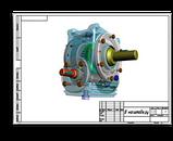 Мотор-редуктор МЧ-63-140 140 об/мин выходного вала, фото 2