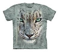 3D футболка для мальчика The Mountain р.XL 13-15 лет футболки детские 3д (Снежный Леопард)