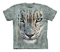 3D футболка для мальчика The Mountain р.M 7-10 лет футболки детские 3д (Снежный Леопард)