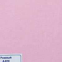 Рулонні штори Тканина Однотонна А-614 Рожевий