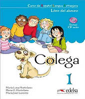 Colega  Libro del alumno + CD Pack