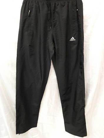 Костюм мужской спортивный Adidas черный без лампасов, фото 2