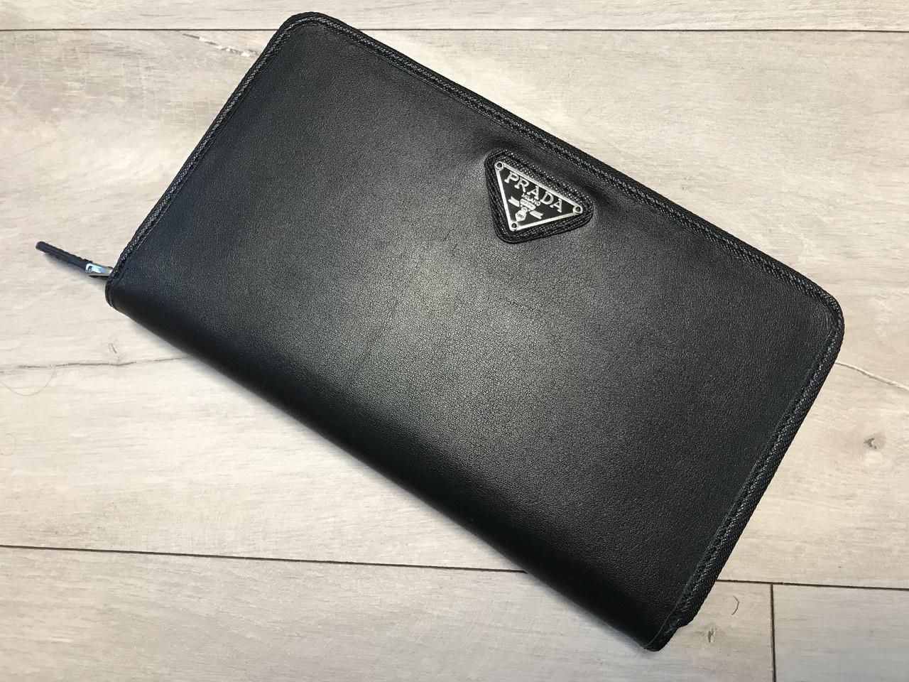 815484f29665 мужской кожаный кошелек Prada прада цена 1 990 грн купить в