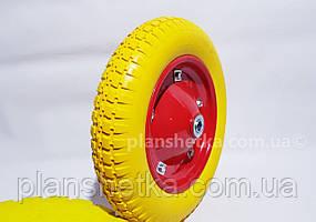 """Колесо для тачки 3.00-8 пена под ось 16 мм """"Tires-For"""""""