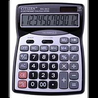 Калькулятор универсальный citizen 9833, с расширенным функционалом, большой дисплей и корпус, клавиши -пластик, фото 1