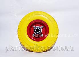 """Колесо для тачке 3.00-4 подшипник 204 пенополиуретановое """"Tires-For"""""""