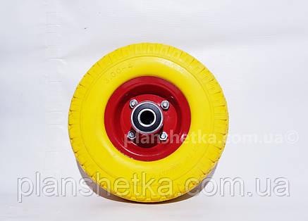 """Колесо для тачке 3.00-4 подшипник 204 пенополиуретановое """"Tires-For"""", фото 2"""
