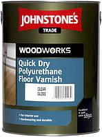 Лак для паркету JOHNSTONE'S Quick Dry Floor Varnish