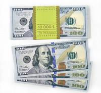 """Сувенірні гроші """"100 доларів"""" (80шт./уп.)"""