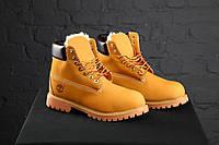 Зимние Мужские ботинки Timberland с мехом