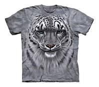 3D футболка для мальчика The Mountain р.XL 14 лет футболки детские 3д (Снежный Барс)