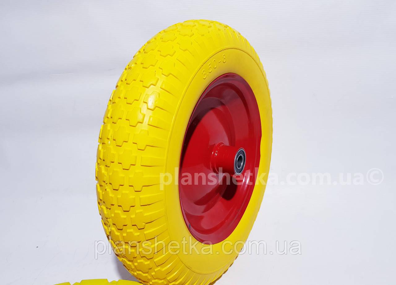 """Колесо для тачки 3.50-8 піна під 20 мм вісь """"Tires-For"""""""