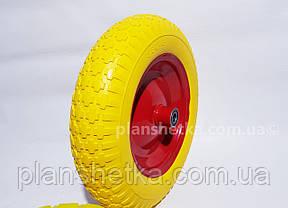 """Колесо для тачки 3.50-8 піна під 20 мм вісь """"Tires-For"""", фото 2"""