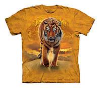 3D футболка для мальчика The Mountain р.XL 14 лет футболки детские 3д (Солнечный Тигр)