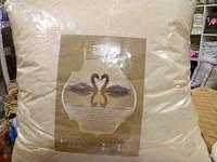 Подушка 70х70 лебединий пух