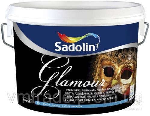 Краска Садолин Инова Гламур, 9.3л, БЦ