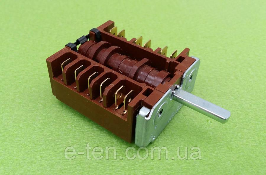 Переключатель шестипозиционный 46.23866.528 для электроплит, электродуховок       EGO, Германия