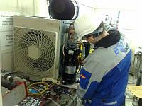 Демонтаж компрессора кондиционера. Киевская область