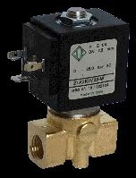 Электромагнитный клапан для воды нормально закрытый G1/4, (ODE, Italy)